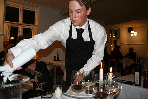 Waiter from Norsminde Kro