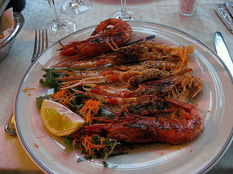 Langoustines and Prawns