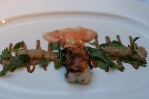 Langoustine and guinea fowl
