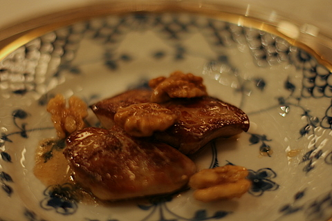 Foie Gras, Chardonnay and Walnuts