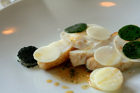 Turbot and sweet cicely