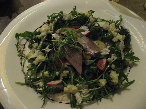 Herrings with horseradish