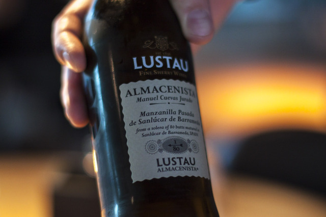 Lustau, sherry wine