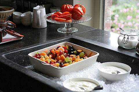 Fruit and Tomatoes